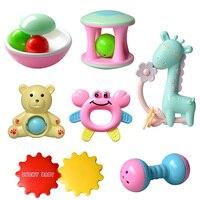 Детские погремушки Игрушка интеллект схватив десны пластик ручная погремушка забавные развивающие мобильные игрушечные лошадки подарки н