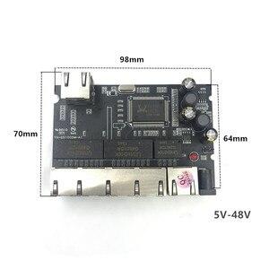 Image 3 - 산업용 이더넷 스위치 모듈 5/6/8 포트 unmanaged10/100/1000 mbps oem 자동 감지 포트 pcba 보드 oem 마더 보드