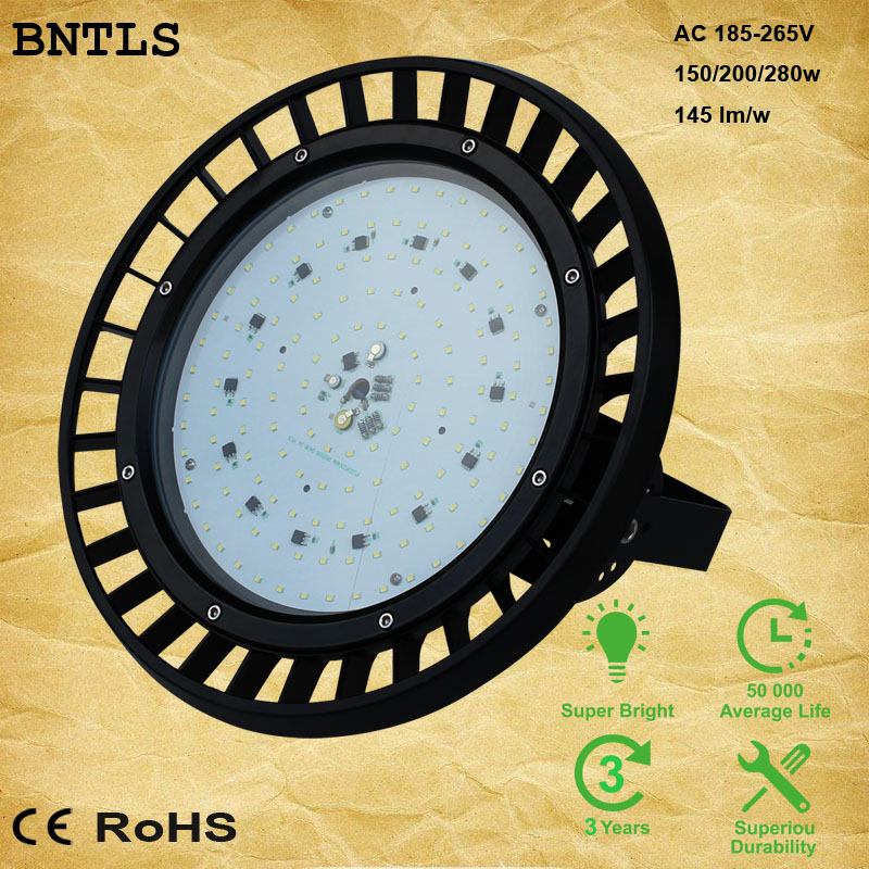 CE RoHS Approved Warehouse Led Lights 100w 150W High Bay Led