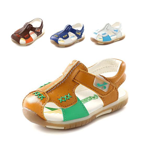 2015 verão genuínos crianças sapatos de couro meninos sapatos da moda fretworks baby boy sapatos criança bebê primeiros caminhantes