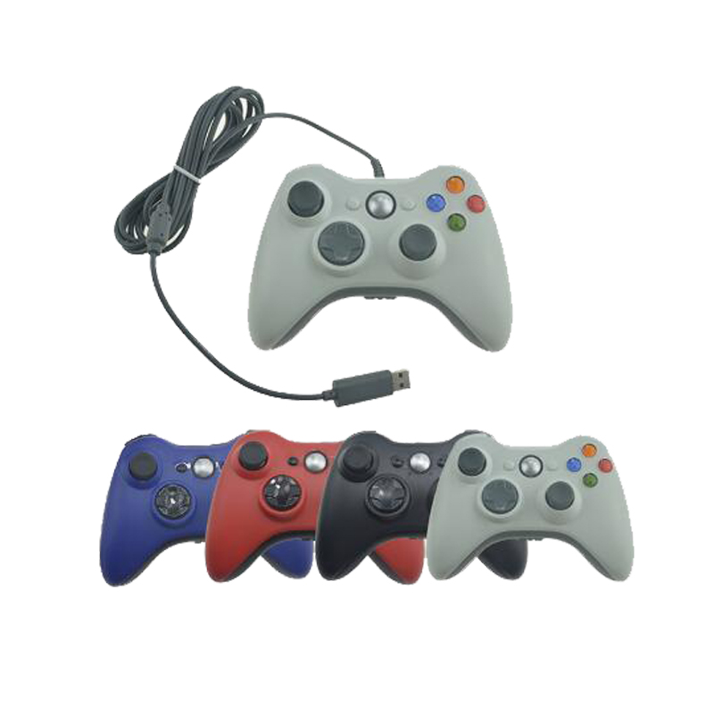For Microsoft Xbox 360 USB Wired Controller PC Cellphone Joypad Gamepad Console Wired For XBOX360 Game Joystick 20 x new lb rb button bumper resistance button for xbox 360 wireless and wired controller joystick for xbox360 replace