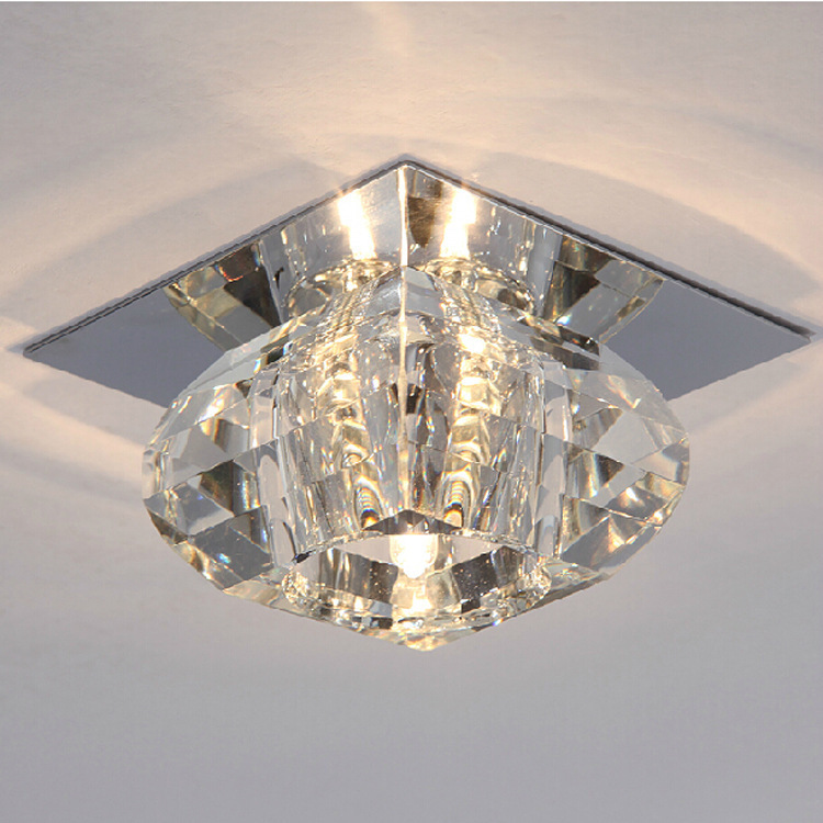 2015 New Led K9 Crystal Light Fittings Living Room White U0026 Warm Porch Lamp  Cheap Modern Recessed Lighting For Home Deco In Ceiling Lights From Lights  ... Part 15