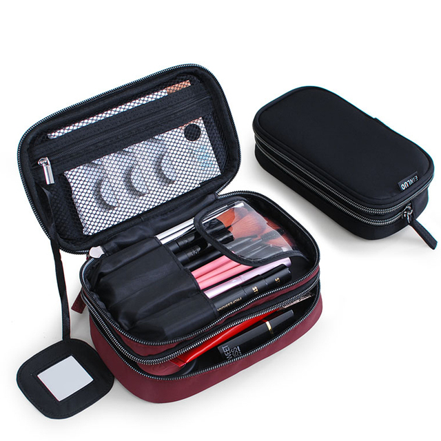 13b4449b0d27 Lady Makeup Bag Men s Cosmetic Bag Stylish Waterproof Makeup Case Travel  Organizer Beauty Case Toiletry Kit for Men Makeup Case