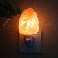 Natural Himalayan Wall Salt Night Light Nursery Lamp Mini Decorative Crystal Night Light Lighting Salt Lamp