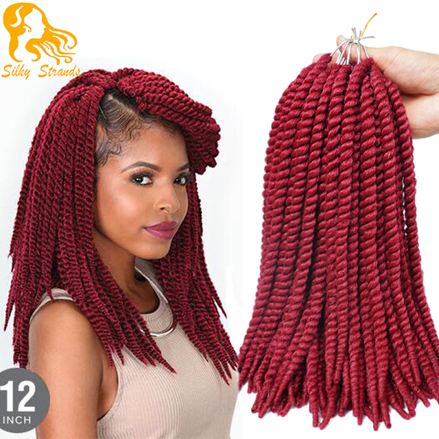 Medium Size Crochet Braid Hair 12 65g 16 Roots Havana Mambo