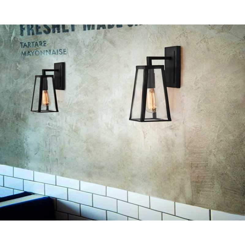 LukLoy бра свет, Винтаж декоративные ретро Клетка бра, промышленное освещение стены для коридор балкон Lodge e27