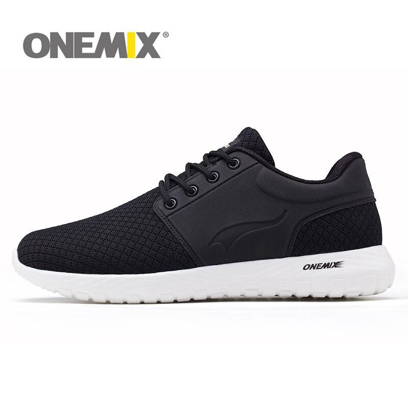 Прохладный Onemix ультра-легкий Кроссовки для Для мужчин тренер воздухопроницаемая комфортная обувь Для женщин Обувь спортивная для девочек ...