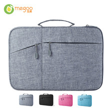 Megoo Surface Pro 4 Case Sleeve Bag Cover With Handle Pocket Briefcase For Xiaomi Air 12.5″/Microsoft New Surface Pro4/3/5 12.3″