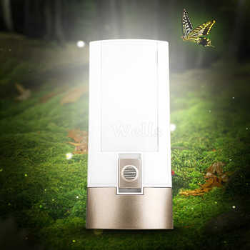 Recharged 2600 mAh Battery capacity Electromagnetic induction Flashlight green energy 10 lamp beads Decorative Wall Nightlights