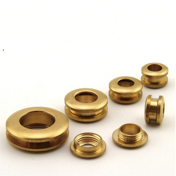 13*7mm Brass Gas Hole Screw Grommets Connection Eyelet DIY Bag Part Hardware Handmade Cloth Ring Leater Craft Buckle Hole