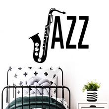 Cute jazz Wall Sticker Decal Home Decor Children House Decoration Murals