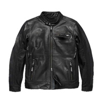 2018 new men's jacket motorcycle Protective Gears Spring summer autumn winter leather jacket 115th European size