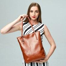 Fashion font b Women s b font Fashion Genuine font b Leather b font Handbag font