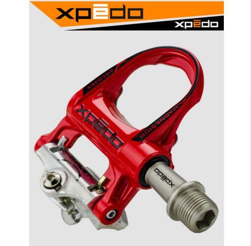 Wellgo xpedo XRF07MC pieds de route en magnésium klikpedalen met 2 paires look keo Compatibel crampons zelfsluitende pedaal 235g