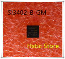NEW  10PCS/LOT  SI3402-B-GMR SI3402-B-GM SI3402 B-GM SI3402-GM SI3402 GM QFN20