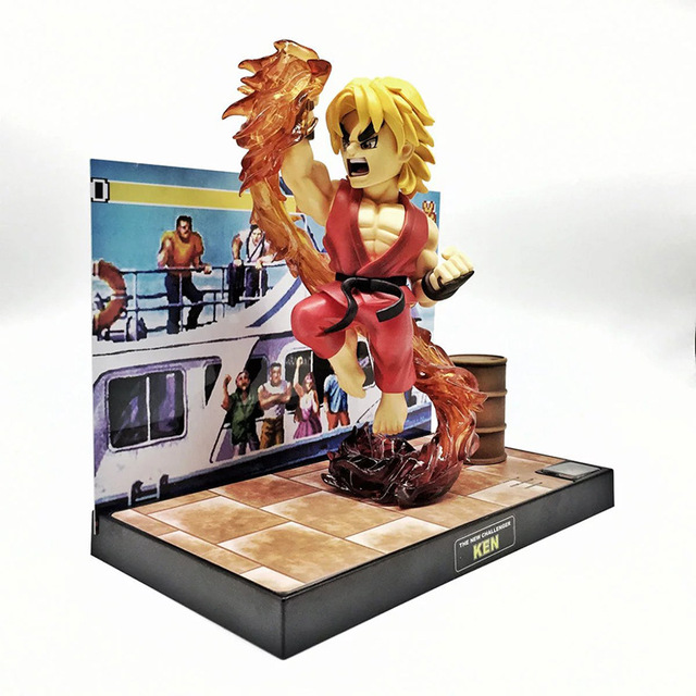 16cm Street FighterKen Masters
