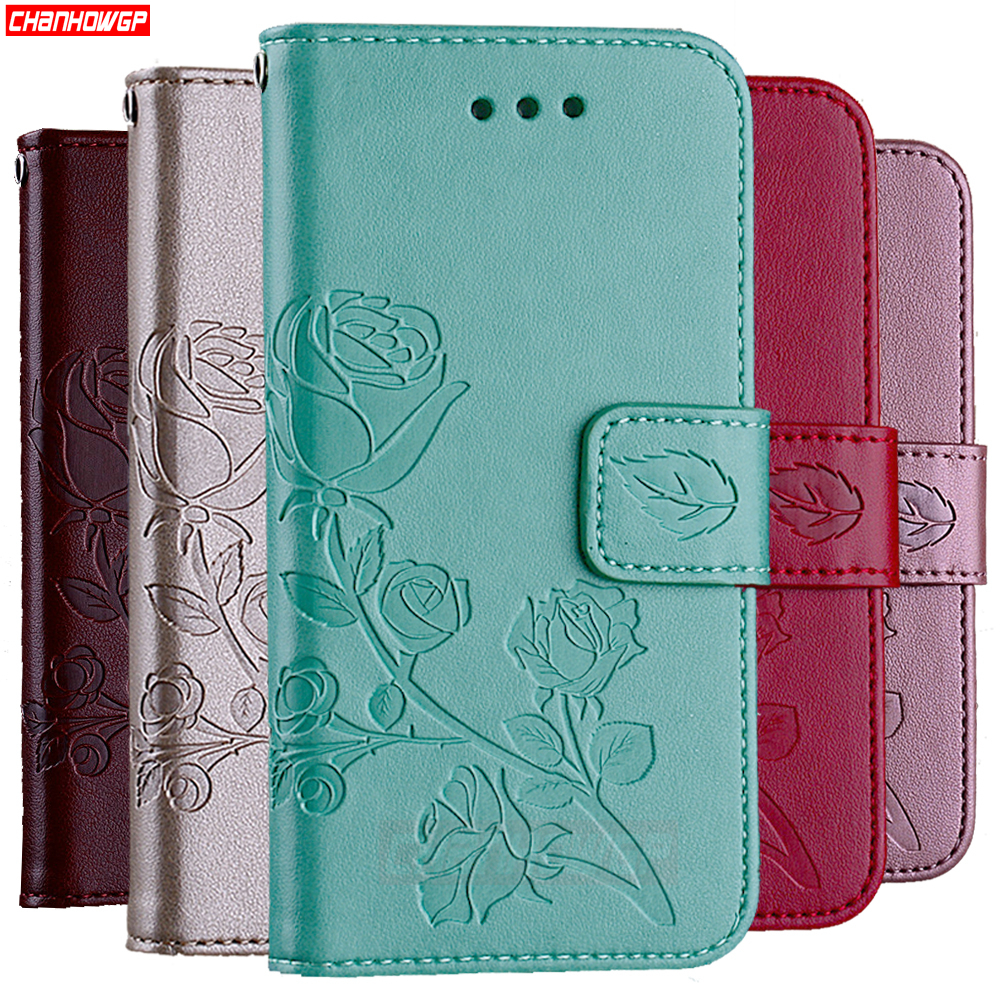 Rose Flower Flip Wallet Case For Samsung Galaxy J4 J6 J8 J3 J5 J7 Neo A5 A7 A9 A6 A8 2018 2017 2016 S8 S9 Plus S6 S7 Edge Cover