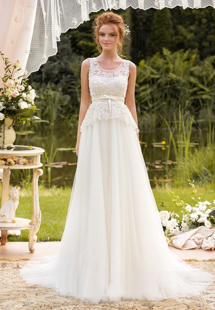 tank wedding dress tank top wedding dresses Aesthetic Unique Wedding Dresses Ideas Dressizer