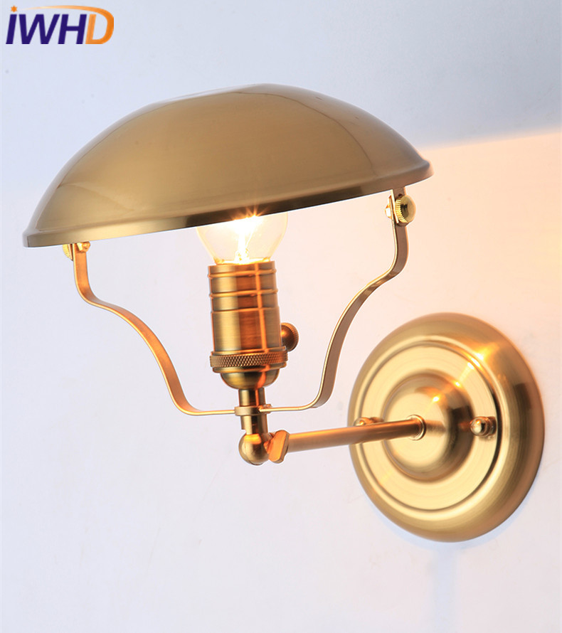 IWHD Post Modern LED Wall Lamp Nordic Wall Lights Creative Loft Iron Bedside Sconce Fixtures Home Lighting Arandela Luminaire modern lamp trophy wall lamp wall lamp bed lighting bedside wall lamp