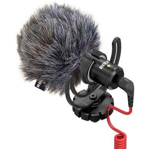 Image 4 - Ulanzi Original Rode VideoMicro On Camera Microphone for Canon Nikon Lumix Sony Smartphones Free Windshield Muff/Adapter Cable