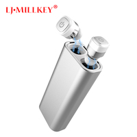 Control Mini Earbuds TWS Earphone WaterProof Bluetooth Headset Handsfree With Charging Box For Smartphone LJ MILLKEY