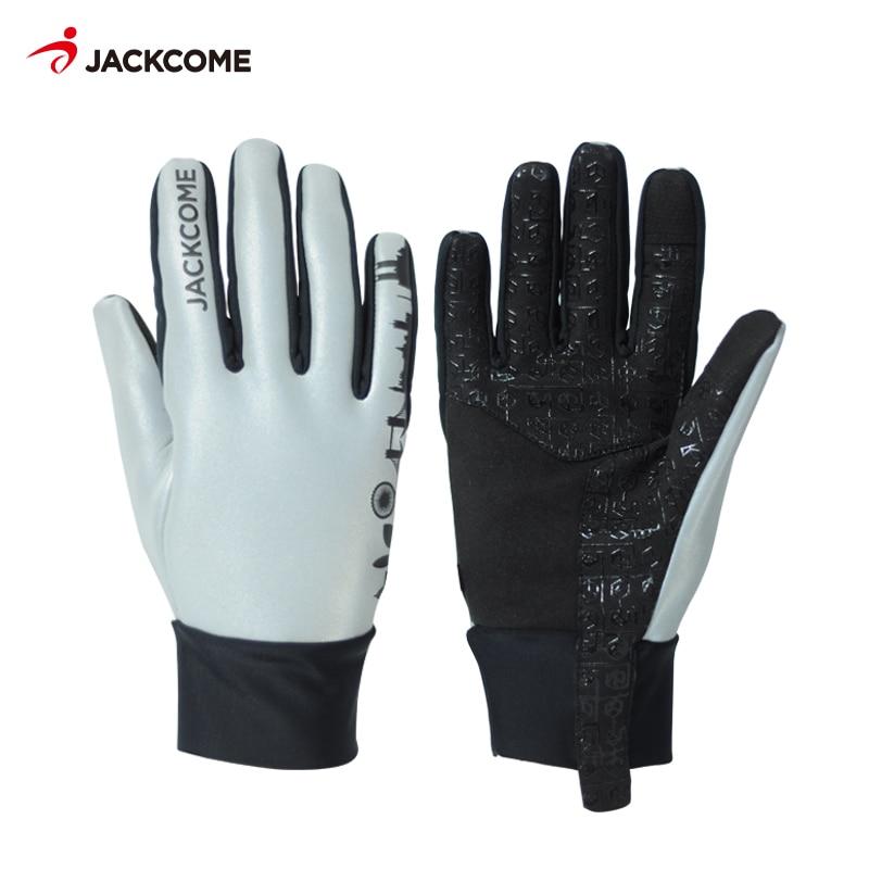 JACKCOME Cyklistické rukavice s dotykovou obrazovkou MTB Moto - Cyklistika