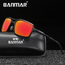 BANMAR Brand Designer Aluminium Sunglasses Polarized Men/Women Original Box Male Sun Glasses Gafas Oculos De Sol Masculino