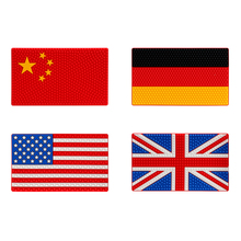 Non-Slip Pad China UK US Germany Flag Anti Slip Mat Car Sticky for Phone GPS Coin Key Holder 26*15.5cm Auto Interior Accessories