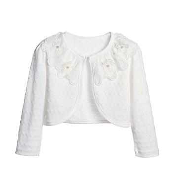 YouBeiKa Baby Cardigan Girl Cardigan Kids Sweater For Toddler Girls Shrug Cardigan Long Sleeve Shrug Bolero Pull Enfant Fille cardigan