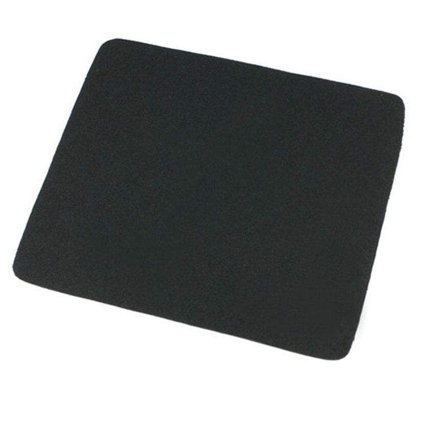 Черный Новый 22*18 см Универсальный Коврик для мыши коврик ноутбука планшетный ПК черный геймера Mar22D6