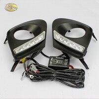 SNCN LED Daytime Running Lights For Toyota Corolla 2011 2012 2013 DRL Fog lamp cover light