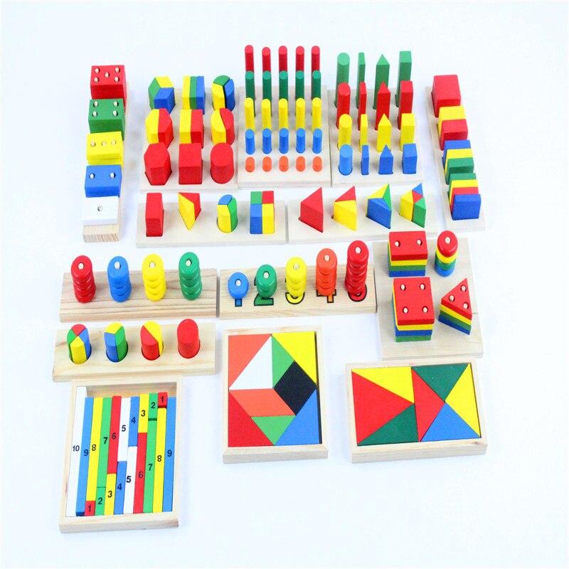 Image 4 - Детские игрушки Монтессори, сенсорные игрушки, 1 набор = 14 шт.,  для раннего развития, Дошкольное обучение, детские игрушкиtoy  texturestoy story piggy banktoy plush