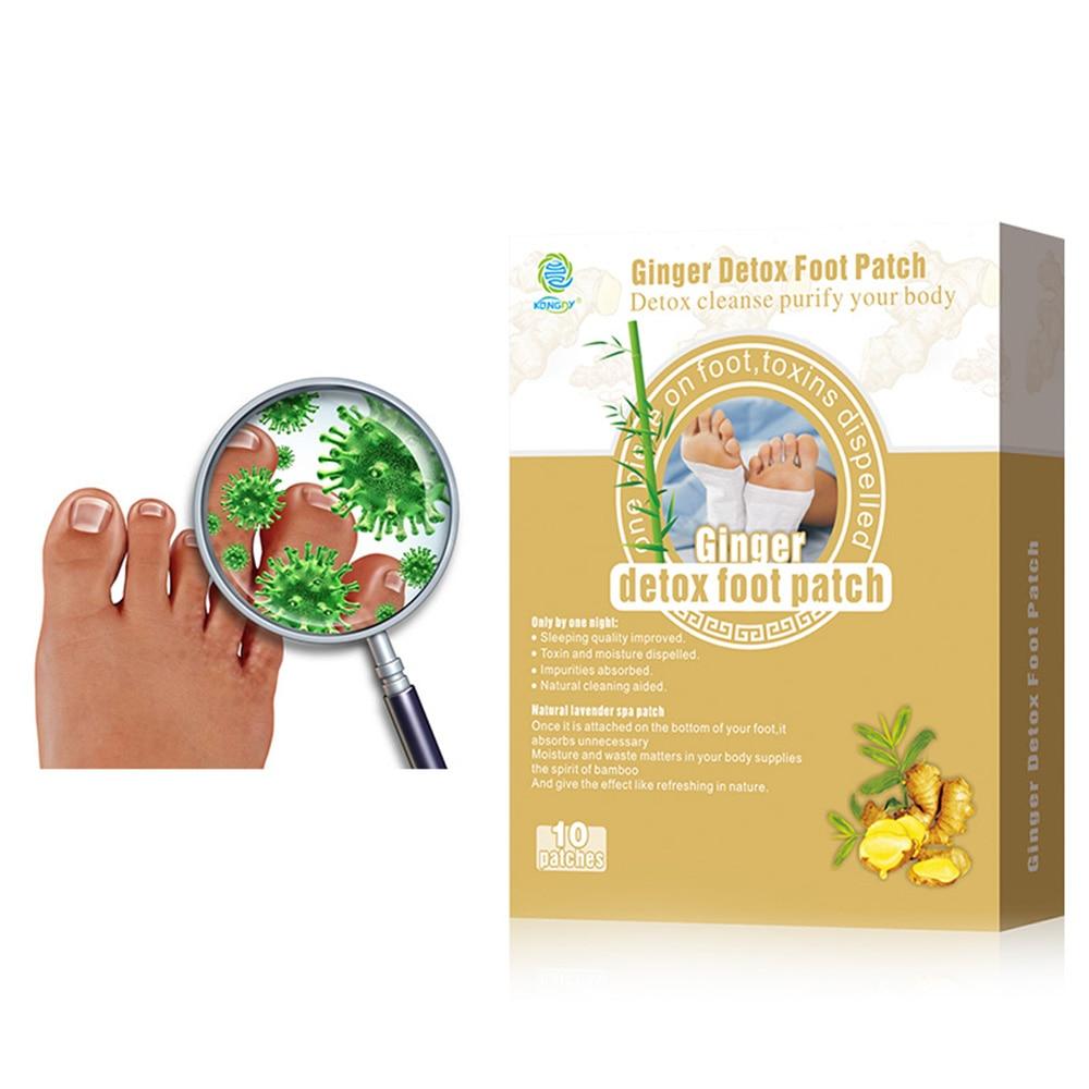 KONGDY Markë 10 copë / kuti xhenxhefili kuti Kujdesi shëndetësor esencial për vaj përbërës natyral përbërës natyralë për pastrimin e toksinave me cilësi të lartë