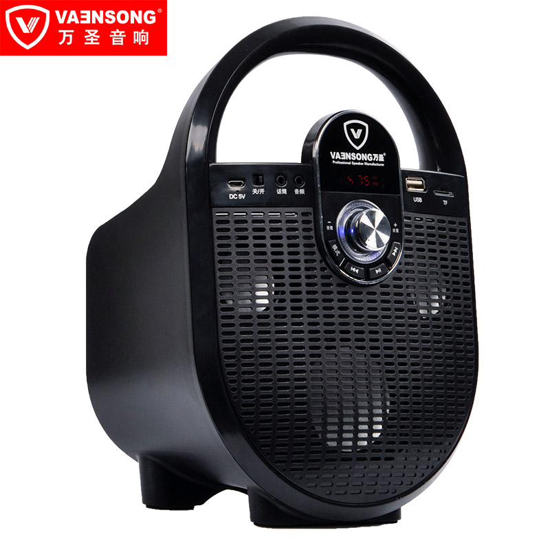 A6 10W Portable HiFi Stereo Bluetooth Speaker 2.1 Subwoofer Can Play TF Card USB Disk FM Radio Family Travel Good Bass Column large capacity battery bluetooth speaker tf card and usb disk play mp3 subwoofer wireless microphone fm radio portable speaker