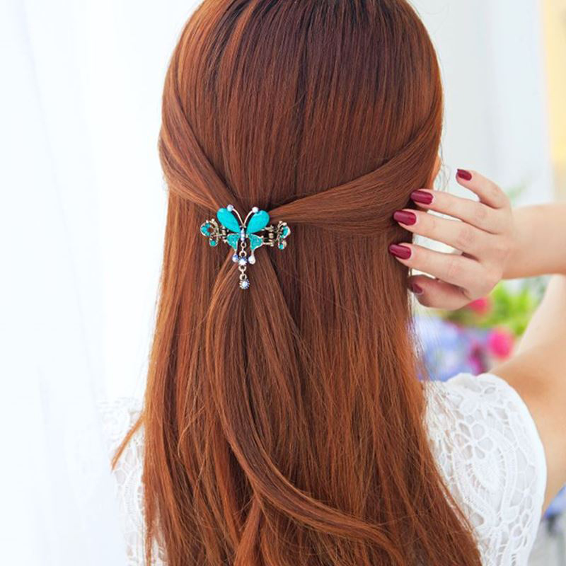 Aliexpress.com : Buy Vintage Women Elegant gem Butterfly ...  Real