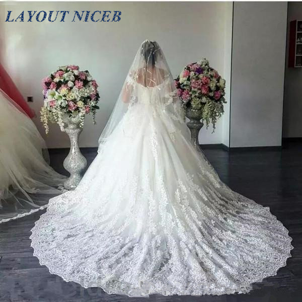 Skräddarsydd Bröllopsklänning 2018 Skräddarsydd Kappa - Bröllopsklänningar - Foto 2