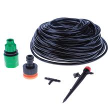 25M Mist Drip Irrigation Sprinkler Adjustable Water Drip Irrigation Kit Garden Watering System Irrigation  Tools Accessories
