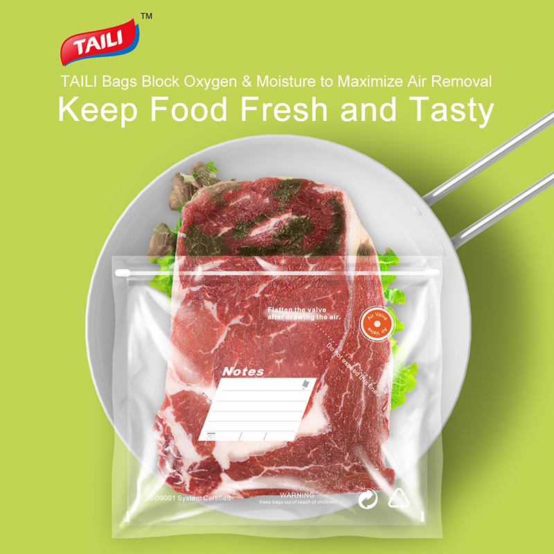 Bolsa de vacío de cocina para alimentos con bomba Bolsas de sellado - Organización y almacenamiento en la casa - foto 2