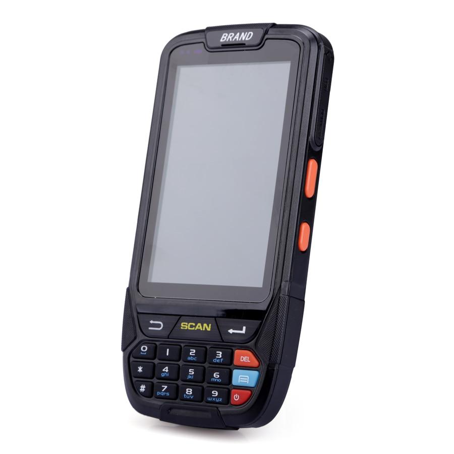 Android портативный 1D сканера штриховых кодов с 4,0 дюймовый дисплей 8MP камера 2 ГБ памяти и 16 ПЗУ