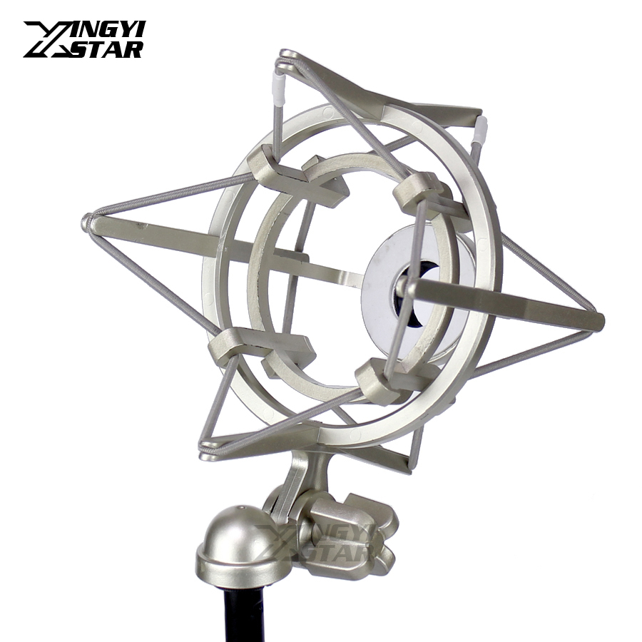 Mikrofonstativ Unterhaltungselektronik Metall Shock Mount Spinne Mikrofon Halter Stoßfest Mic Stand Clip Suspension Für Blau Funken Digitale Bluebird Bm700 Berufskondensator-sound Bm 800 700