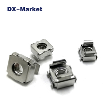 m4 m5 m6 m8 cage nut , 304 stainless steel square Cage Nuts , High quality ss304 nut