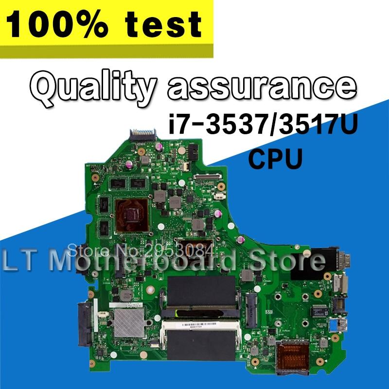 S550CM Carte Mère I7 GT630 REV2.0 Pour ASUS K56C K56CM K56CB S56C S550C Ordinateur Portable carte mère S550CM Carte Mère S550CM carte mère