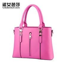 Bag Ladies Zipper Fashion Handbag  A Single Shoulder Bag women leather handbags designer handbags high qualitypurses