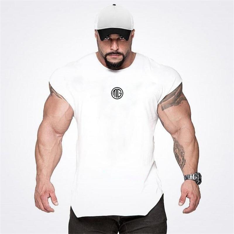 Muscleguys Brand Golds Clothing Fitness   Tank     Top   Men Gyms Stringer Muscle Shirt Workout Vest Bodybuilding Sleeveless Singlets