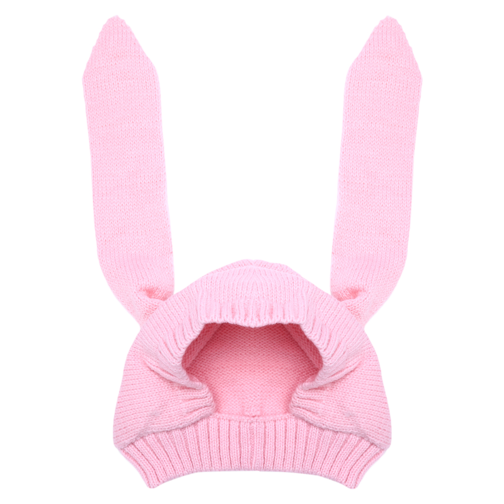 Toddler Infant Knitted Baby Hat Autumn Winter Rabbit Long Ear Hat Baby Beanie Cap Photo Props