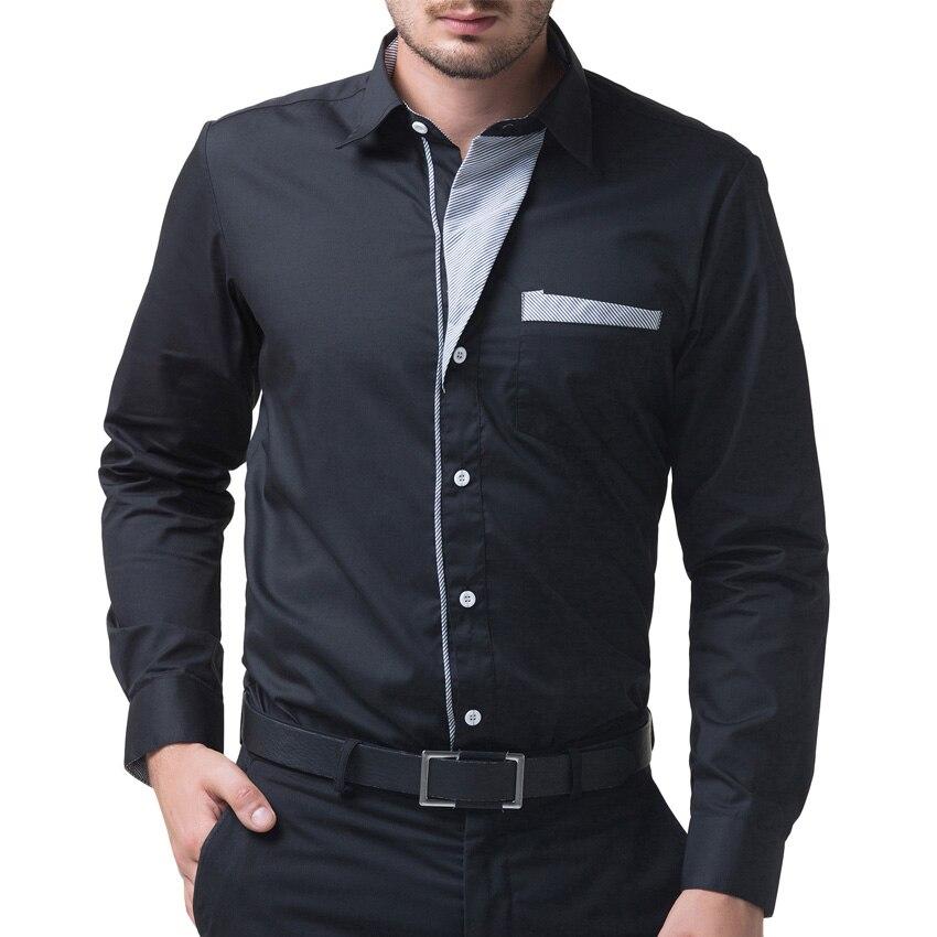 Famosa Marca Camisas Para Hombre Negro/Rojo/Azul Marino