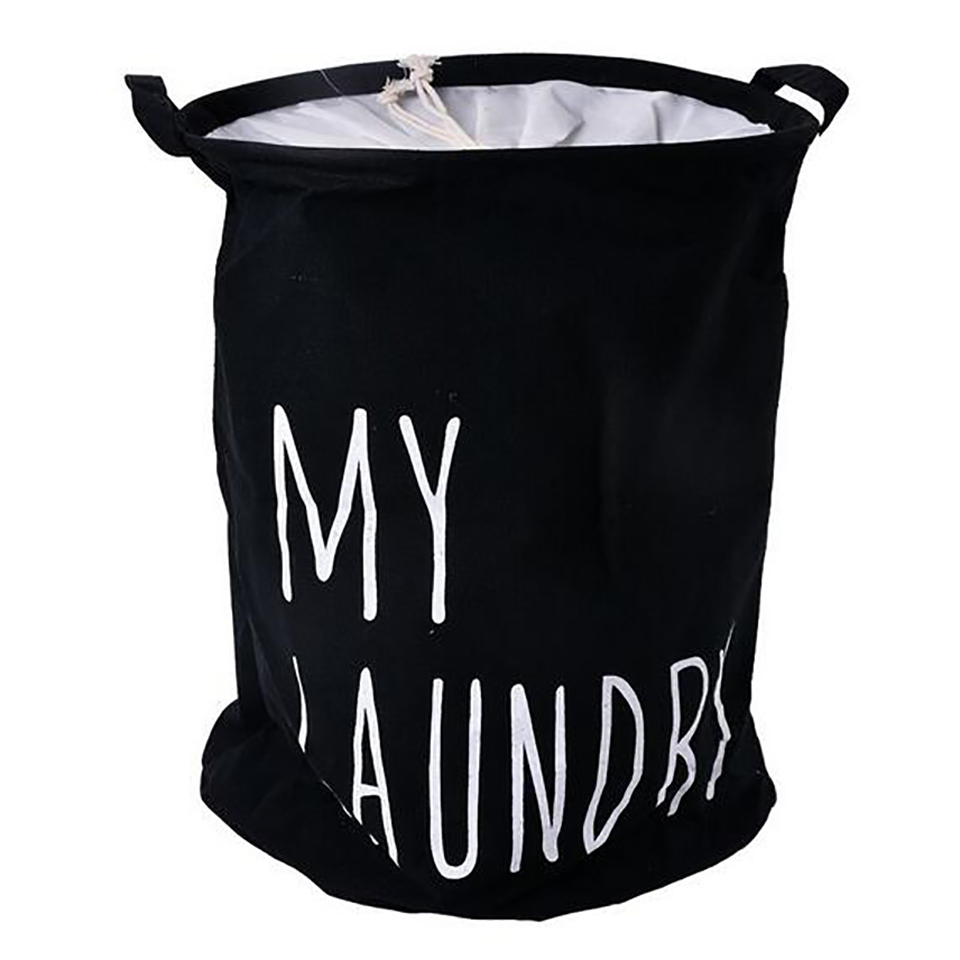 New MY LUNDRY Four Color Cotton Linen Laundry Baskets Storage Barrels Waterproof Binding Dirty Clothes Toys Sundry Storage