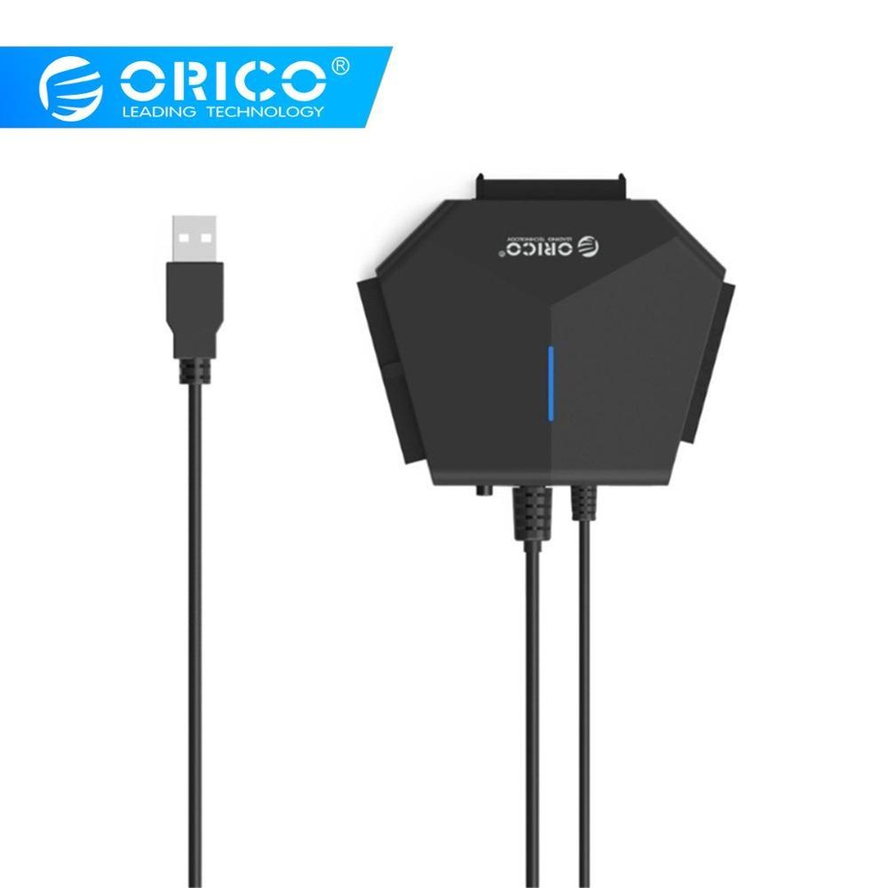ORICO Sata vers USB 3.0 adaptateur câble vers Sata convertisseur 2.5 3.5 SATA IDE cd-rom dvd-rom adaptateur de disque dur pour Samsung Xiaomi pad4
