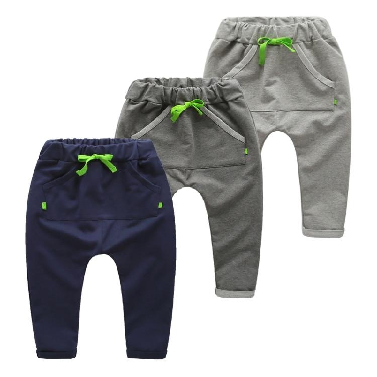 2018 Frühjahr neue Kinder Pluderhosen für Jungen Baby Hosen Casual - Kinderkleidung - Foto 1