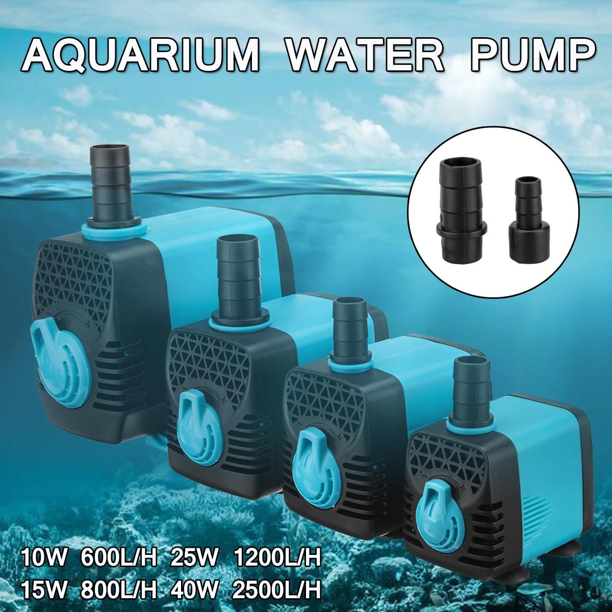 Pump for the aquarium: functions, types, care 21